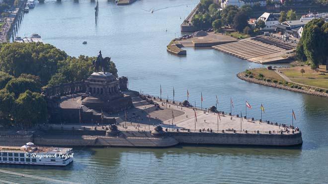 river Rhine at Koblenz