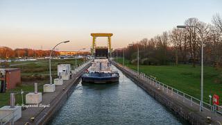 wesel-datteln-kanal schleuse friedrichsfeld