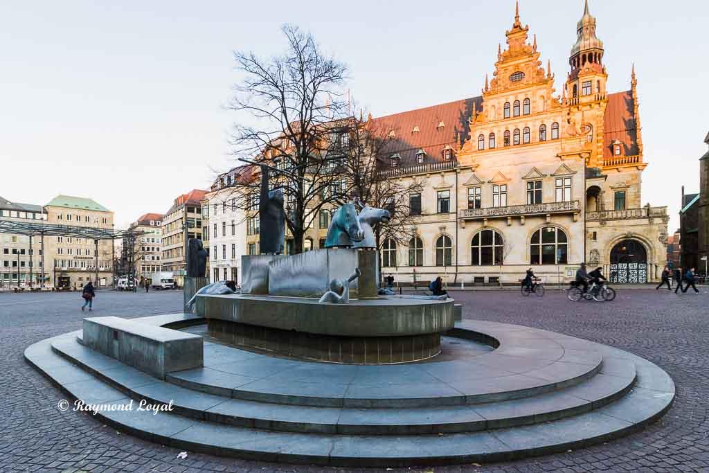bremen altstadt domhofplatz