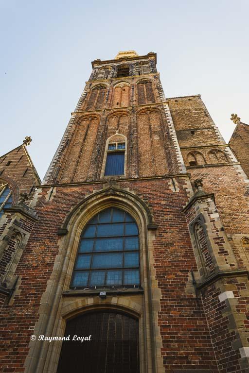 tower grote st jans kerk gouda