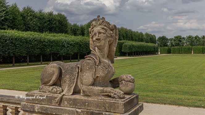 sphinx barockgarten grosssedlitz