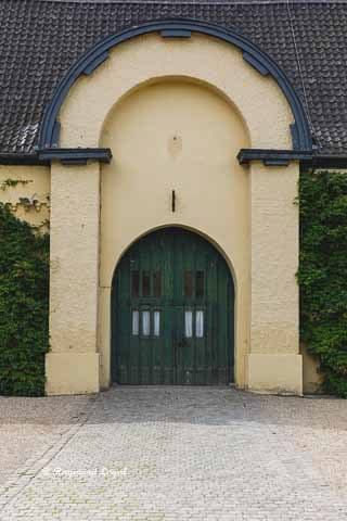 linn castle tithe barn
