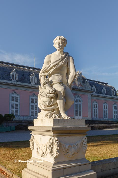 benrath palace meleager sculpture
