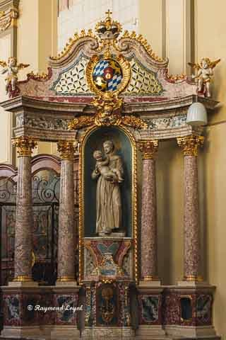 schlosskirche bruehl seitenaltar