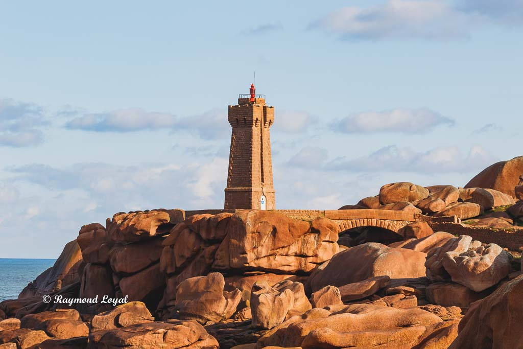 ploumanach lighthouse granite rose coast france