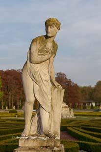 schloss nordkirchen skulptur rasenparterre