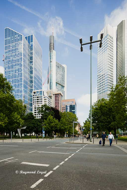frankfurt banking district