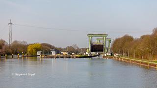 wesel datteln canal huenxe locks