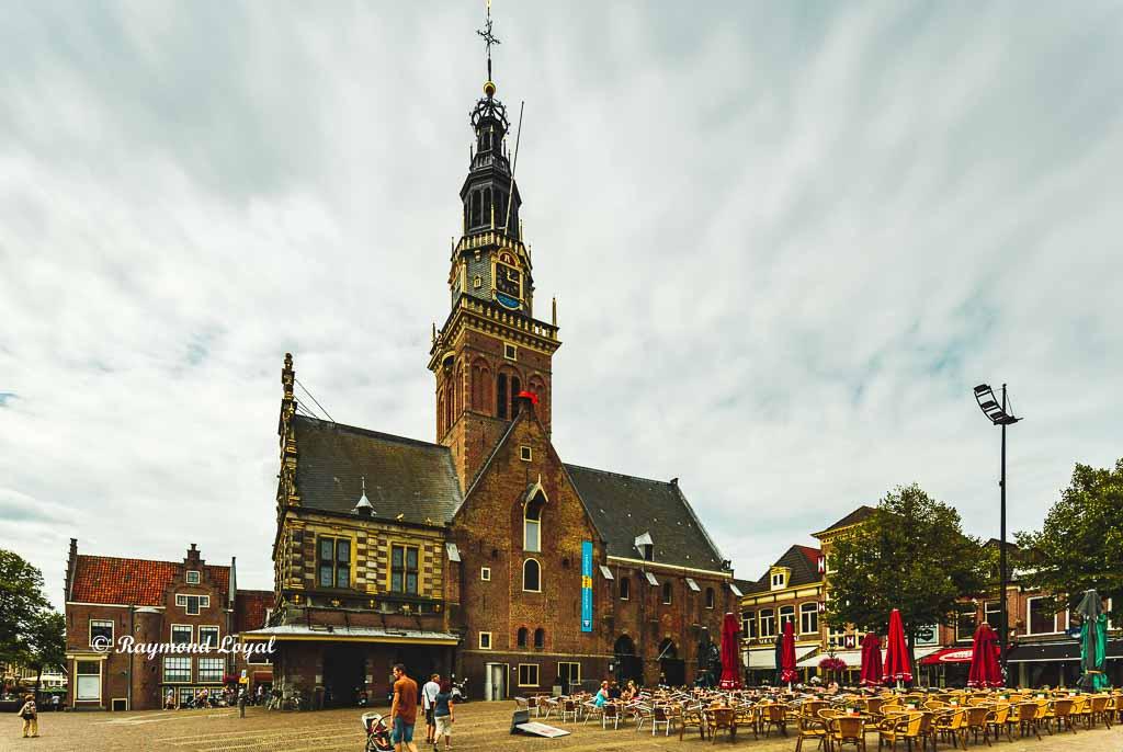 waagplein alkmaar holland