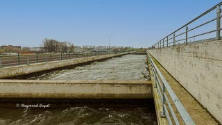 economising basin weser locks minden