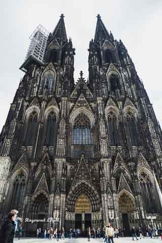 koelner dom fassade kirchturm kirche