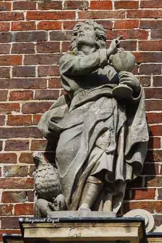 schloss nordkirchen skulptur evangelist johannes
