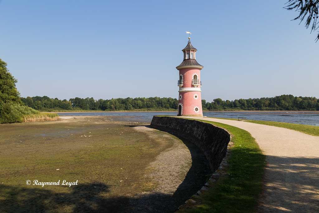 lighthouse at moritzburg palace