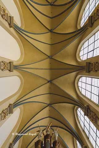 schlosskirche bruehl kreuzgratgewoelbe