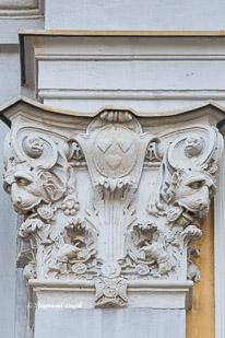 schloss augustusburg bruehl pilaster korinthische kapitelle