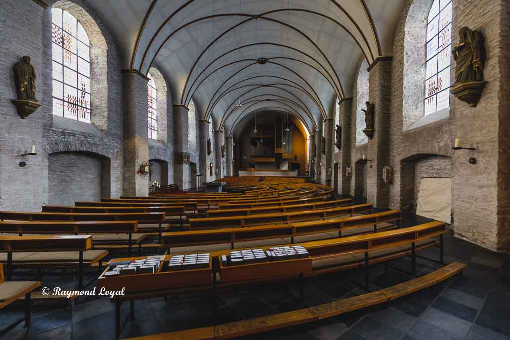 monschau altstadt foto katholische kirche