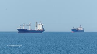 cargo ship northsea