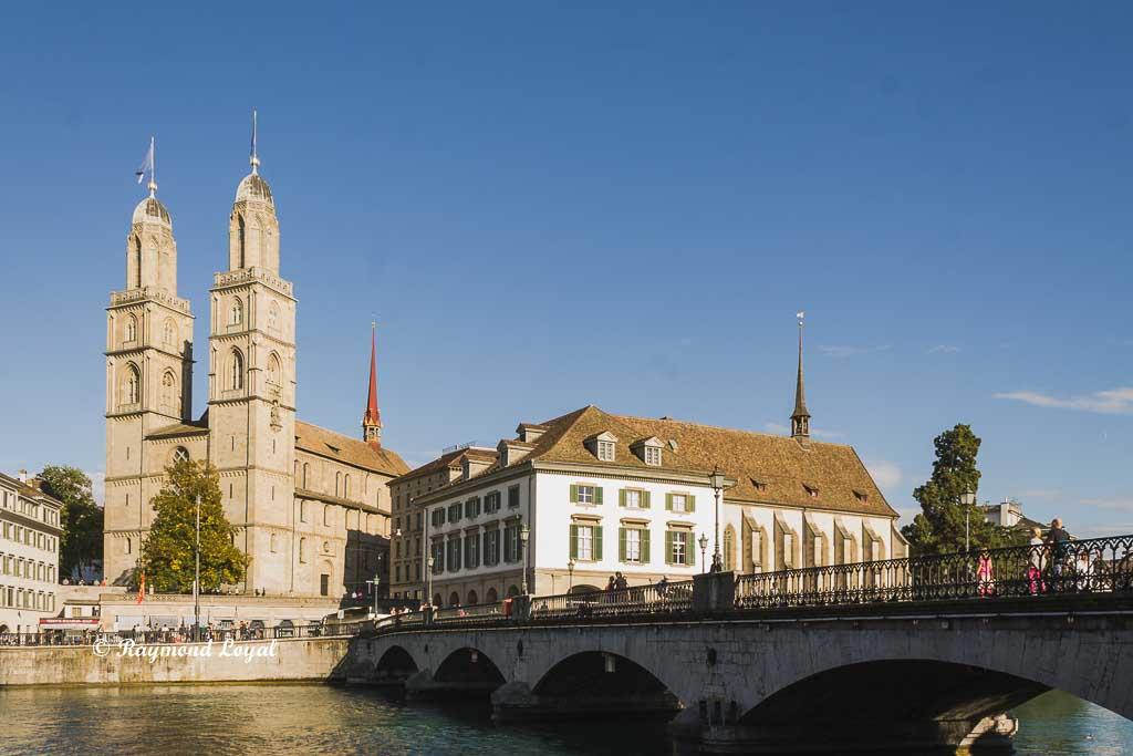grossmuenster zurich cathedral