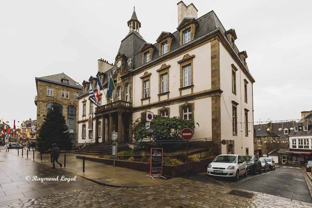 lannion brittany france town hall