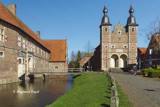wasserschloss raesfeld vorburg schlosskapelle
