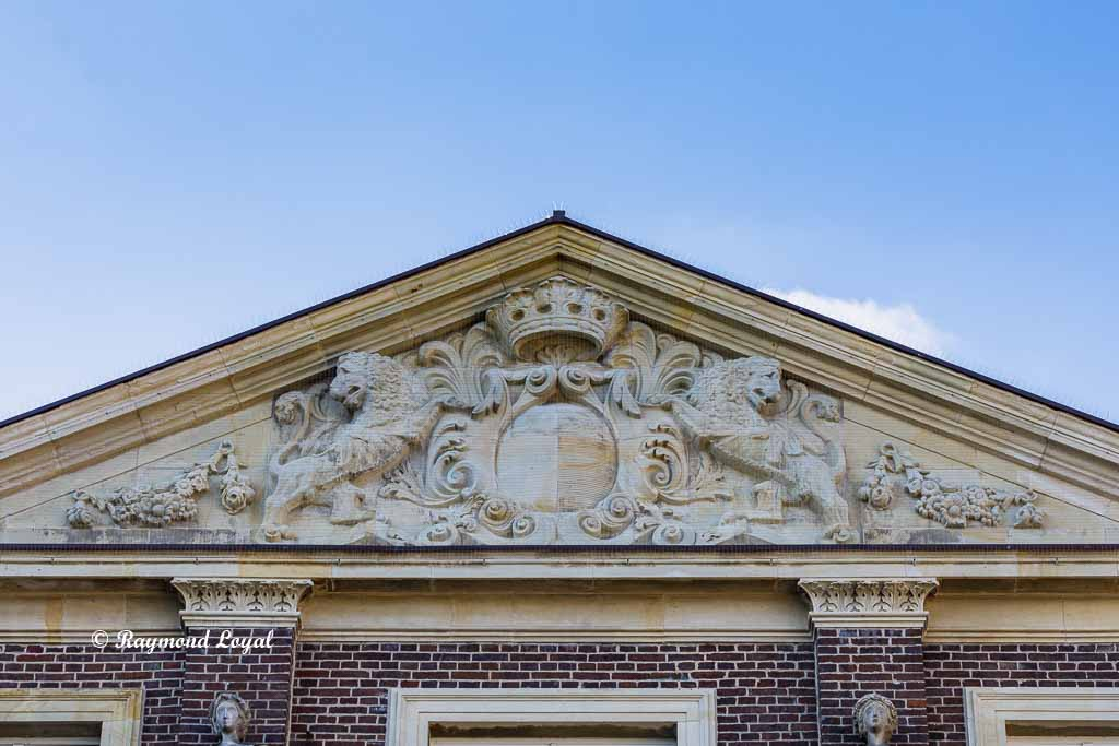 nordkirchen palace gable south facade