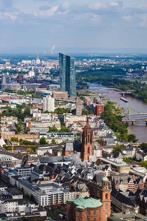 frankfurt aerial photo