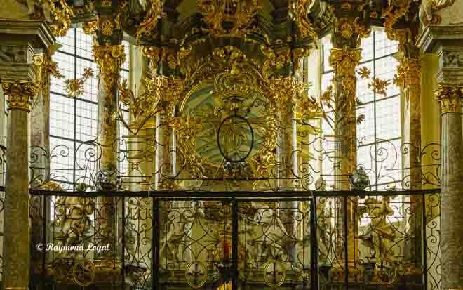 schlosskirche bruehl wappen kurfuerst