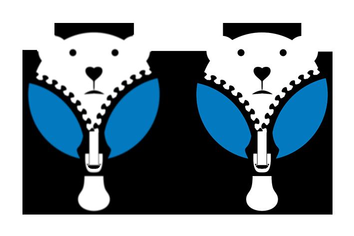 Auf dem Bild seht Ihr ein Pixelbild und Vektorgrafik von dem www.ice-t-shirt.com Logo.