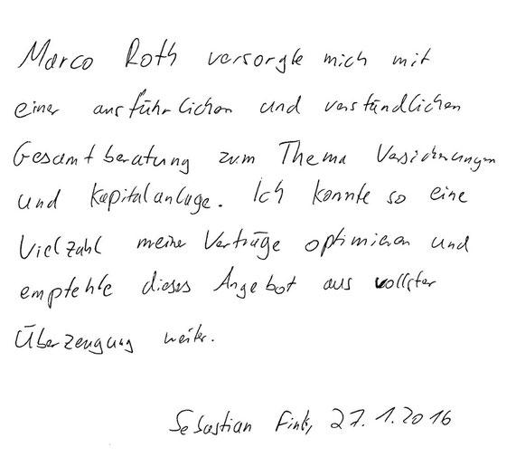Hamburg, den 27.01.2016   S. Fink, System-IT-Administrator