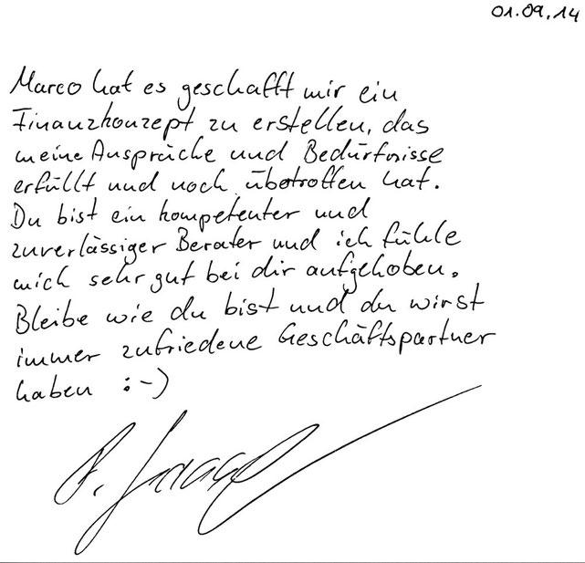 Norderstedt, den 01.09.2014   F. Sasse, Malermeister