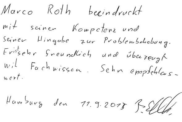 Hamburg, den 08.07.2015  M. Pankewytsch, Student