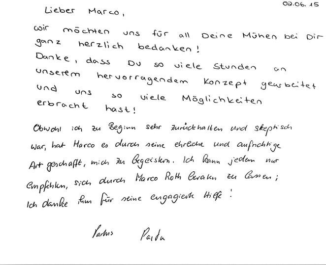 Hamburg, den 02.06.2015   K. Partus, Studentin M. Partus, Pharmazeutisch-technischer Assistent / Apotheker