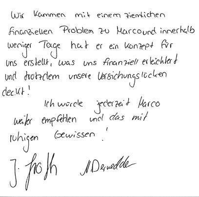Hamburg, den 19.09.2014   J. Groth, Rechtsanwaltfachangestellte N. Dernedde, Feinwerkmechaniker & CNC Dreher und Fräser