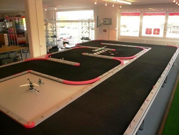 Modell rennbahn motorsport event