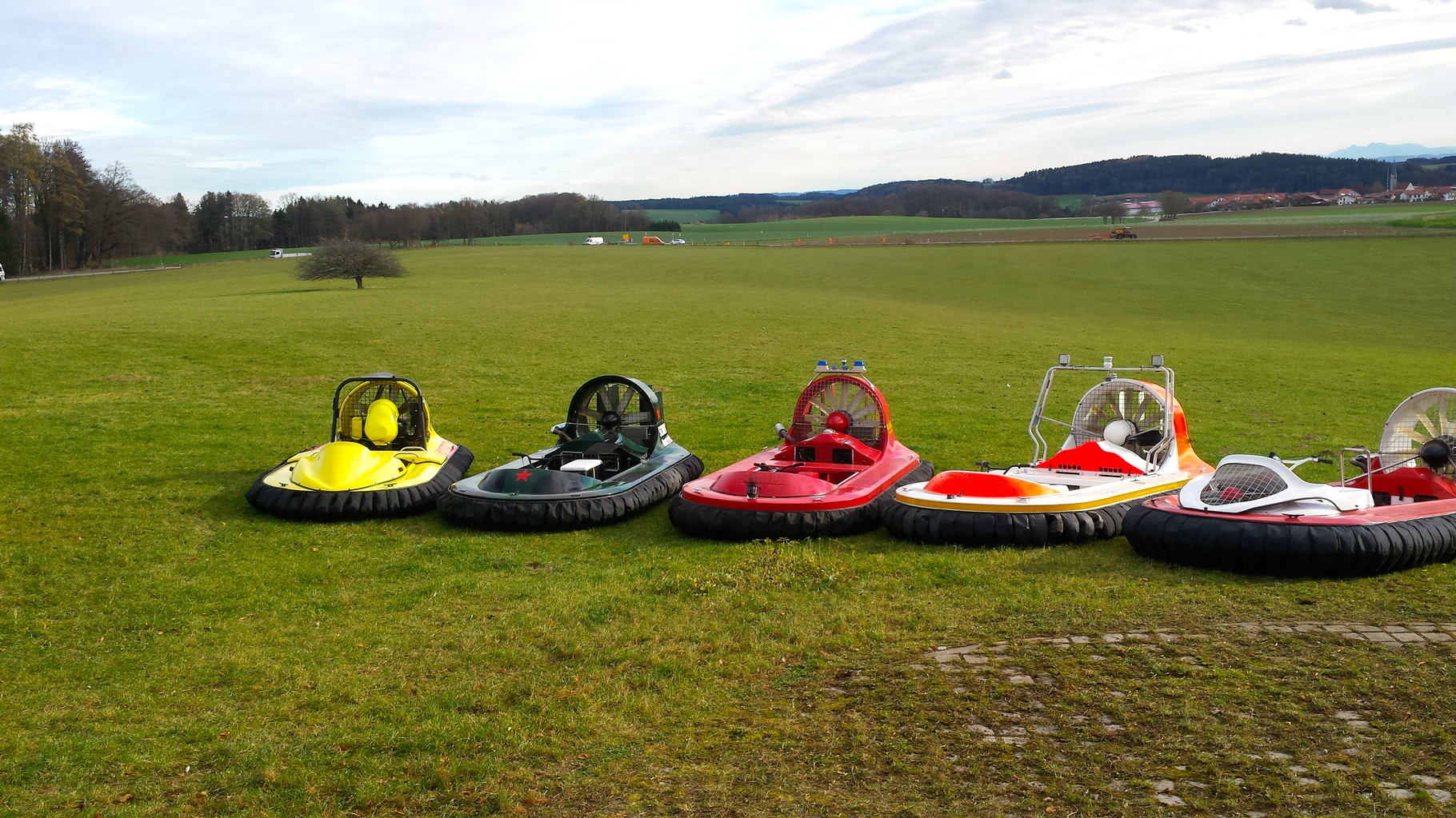 Hovercraft mieten Österreich