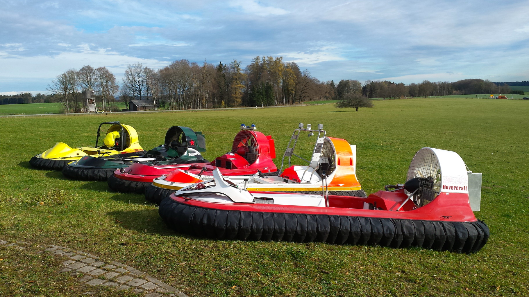 Hovercraft Luftkissenboot Event