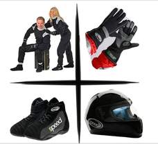 Motorsport Dekoration Accessors Rennkleidung