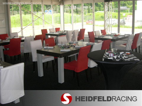 Motorsport event modul catering