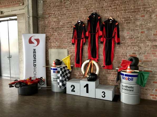 Kindergeburtstag Motorsport Event Dekoration