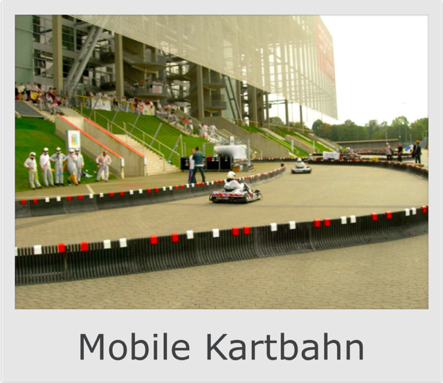 Mobile Kartbahn mieten