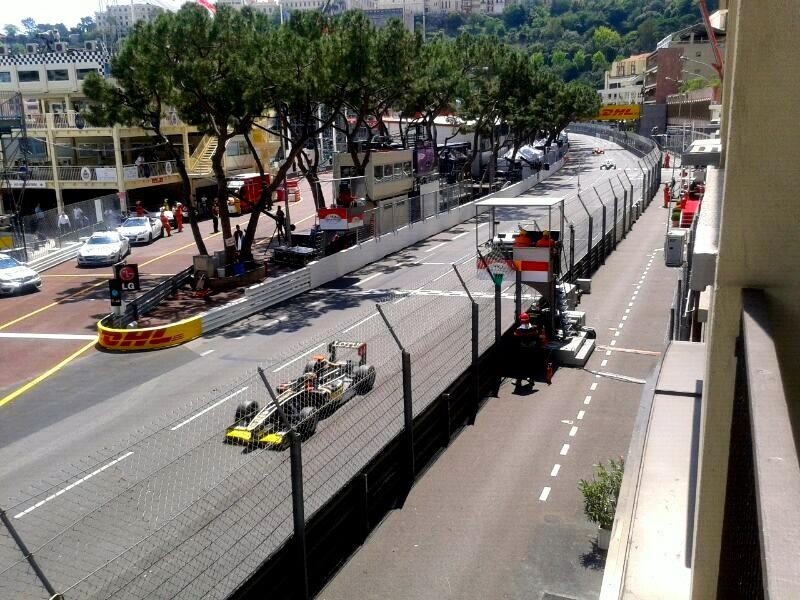 Formel 1 Monaco Balkon Motorsport Events