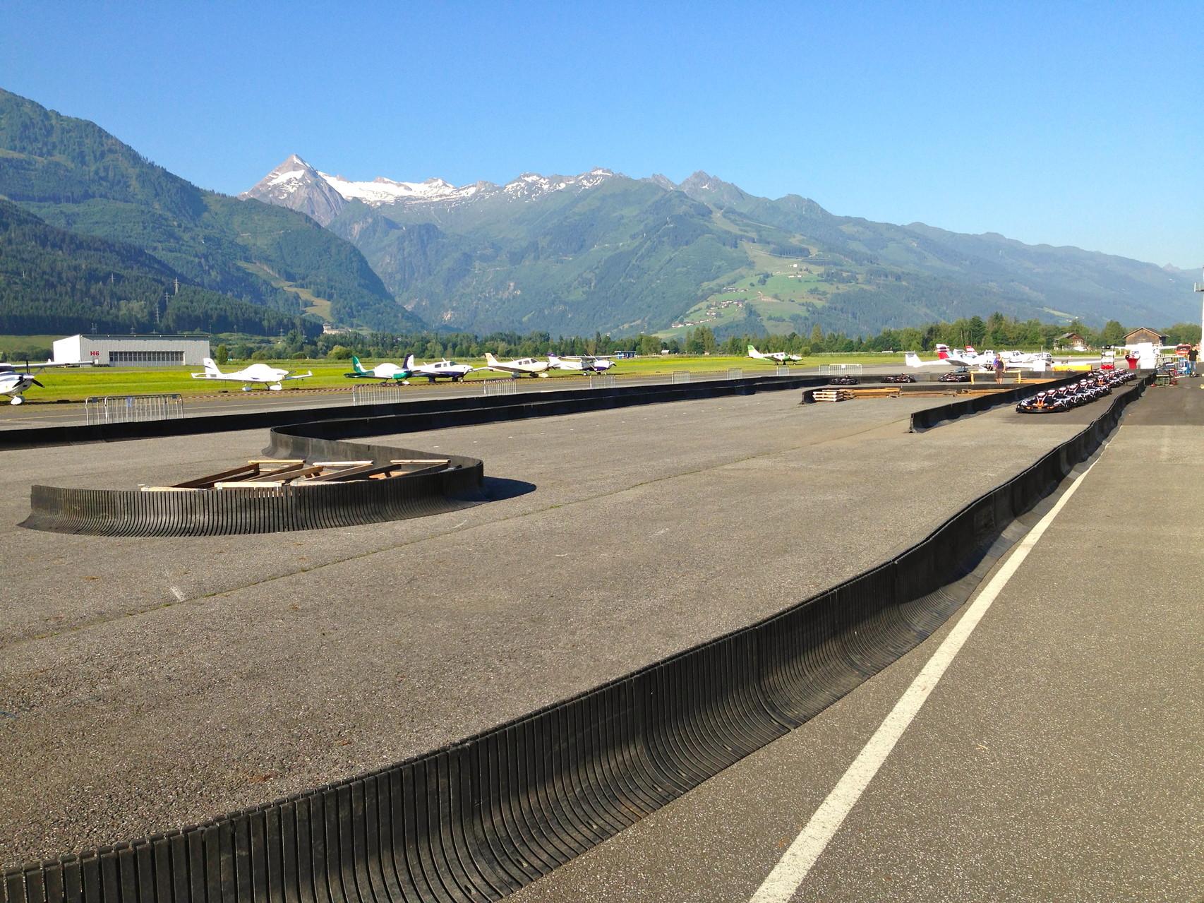 Mobile Rennstrecke Kartbahn Schweiz