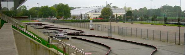 Mobile KArtbahn, mieten, E, Elektro, Benzin, Karts