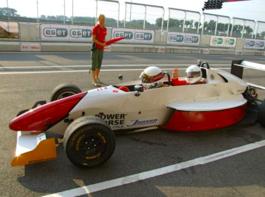 Formel Rennstrecke mitfahrt