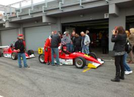 Formel fahren im Rennwagen slovakia ring