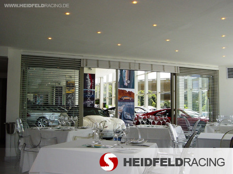 Catering motorsport event