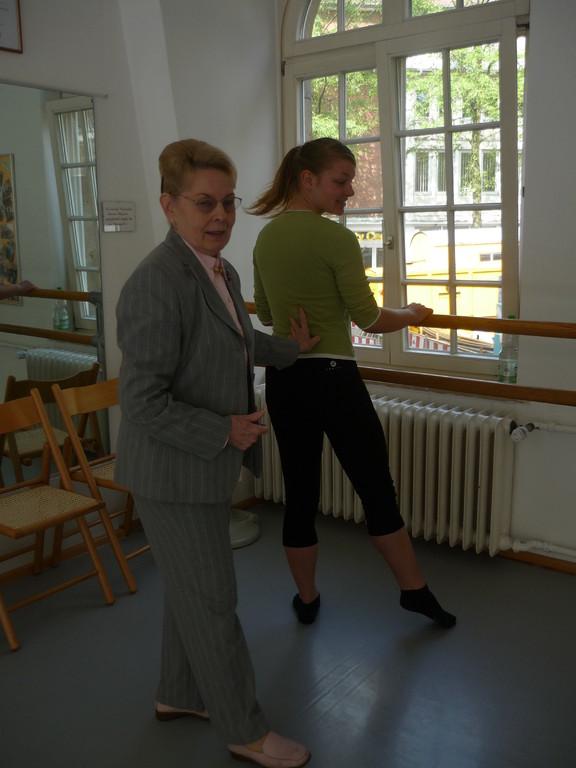 ...in der Ballettschule...