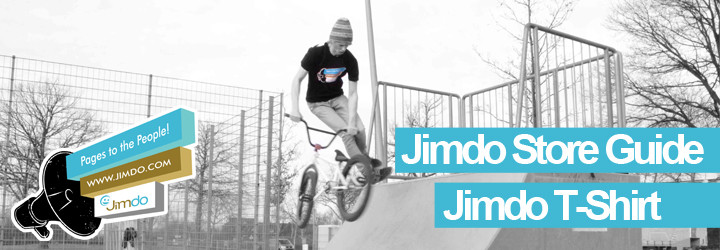 Jimdo Shirt jetzt beim offizielen Jimdo Store kaufen!