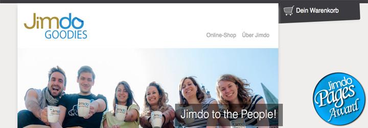 Jimdo Goodies-Shop veröffentlicht!