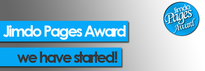 Jimdo Pages Award Oktober ist gestartet!